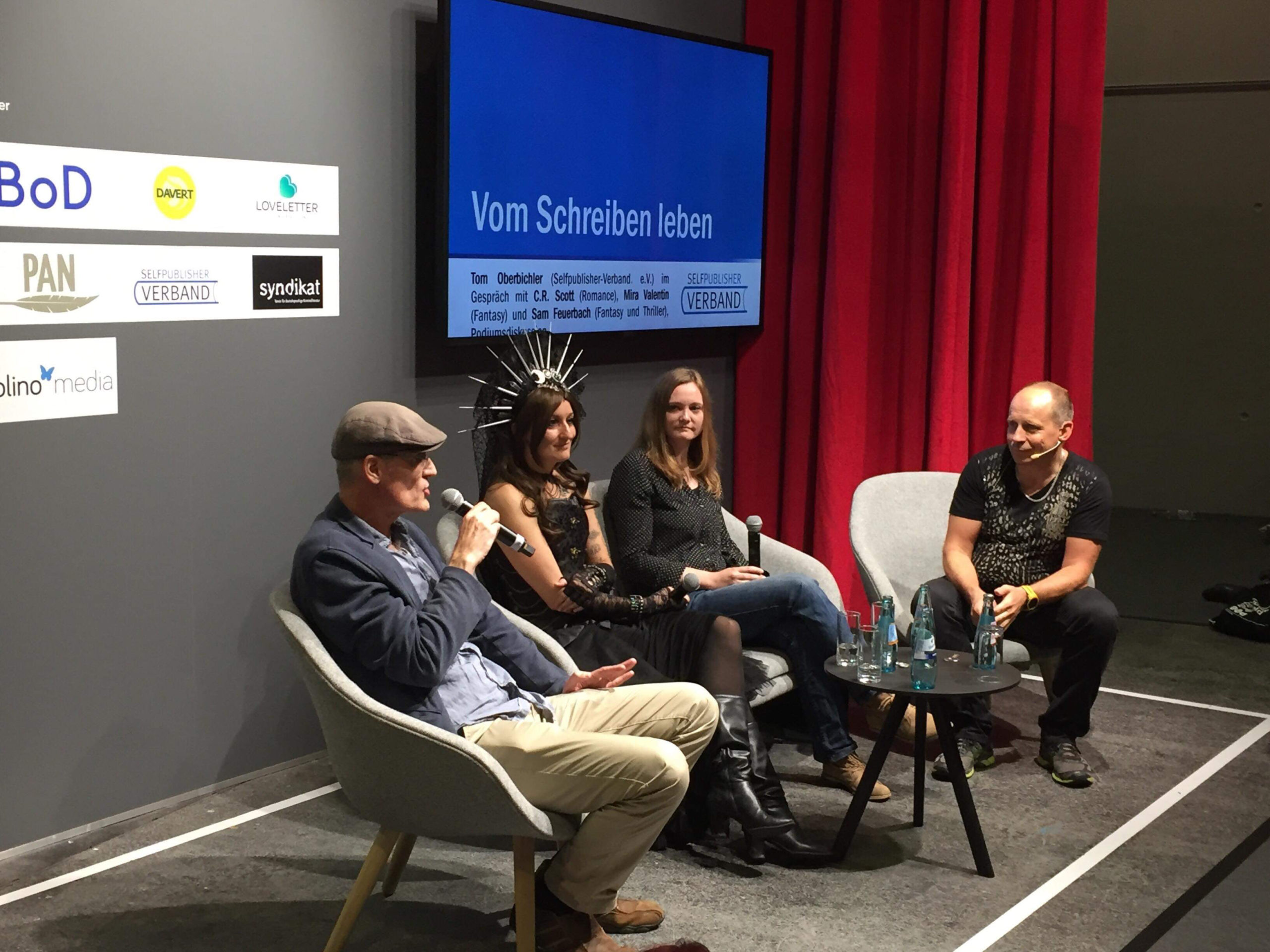Podiumsdiskussin Selfpublisher-Verband