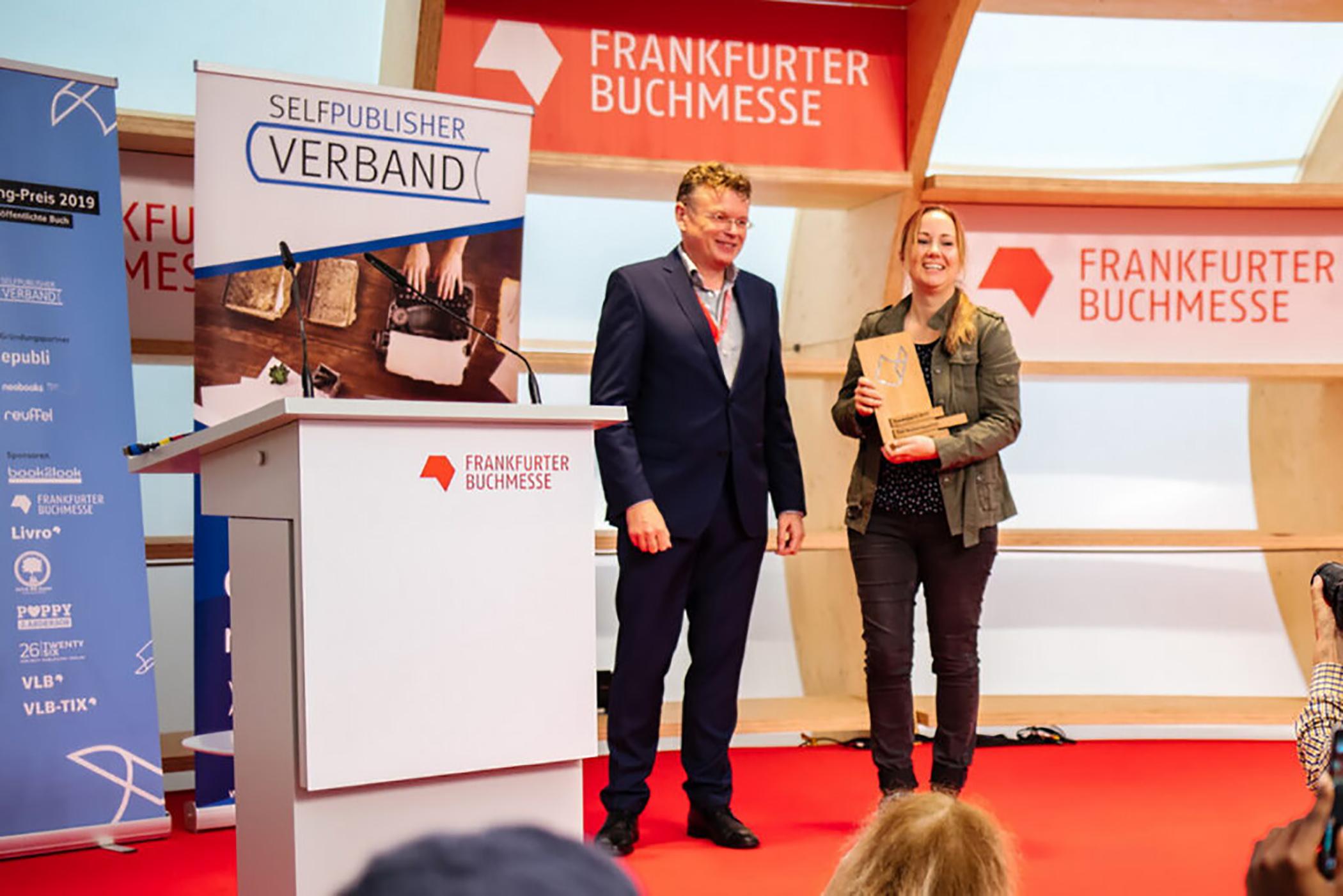 Preisverleihung Deutscher Selfpublishingpreis